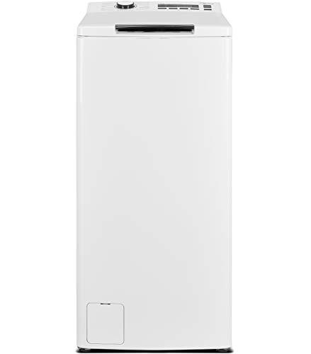 Midea Toplader Waschmaschine TW 5.72i diN / 7,5 KG Fassungsvermögen/Energieeffizienzklasse C/Trommelreinigung / 1200 U/min/Soft Opener, weiß