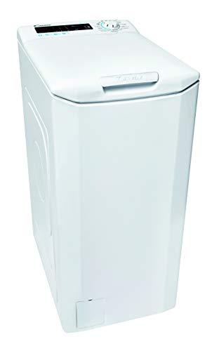 Candy Smart CSTGC 48TE/1-84 Waschmaschine Toplader / 8 kg / 1400 U/Min. / Mix Power System/Gentle Touch Öffnungsmechanismus/Smarte Bedienung mit...