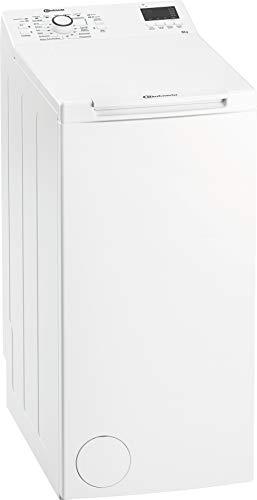 Bauknecht WAT Prime 652 Di N Toplader-Waschmaschine / 6 kg / 1152 UpM/FreshFinish/Startzeitvorwahl/Kurz 30'/ Kaltwäsche-Option/Antiflecken-Programm, Weiß
