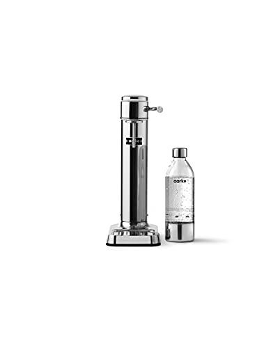 Aarke AAC3-STEEL Carbonator Wassersprudler, Stainless, Polished Steel