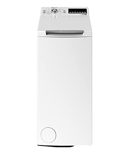Bauknecht WMT Style 722 ZEN N Toplader-Waschmaschine / 7 kg / 1152 UpM/FreshFinish/ZEN Technology/Startzeitvorwahl/SoftOpening/Kurz 30'/ 15° Green& Clean,...