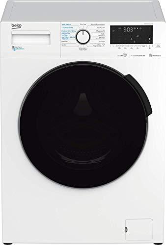 Beko WDW85141Steam1 Waschtrockner/ Touch-Display mit Startzeitvorwahl 0-24 h/ Wasserkondensation/ Bluetooth/ Dampffunktion/ Nachlegefunktion/ 8 kg Waschen, 5 kg...