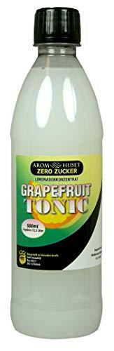 Zero Zucker Grapefruit Tonic Limonadenkonzentrat - 500 ml - ergeben 12,5 liter Zero Grapefruit Tonic