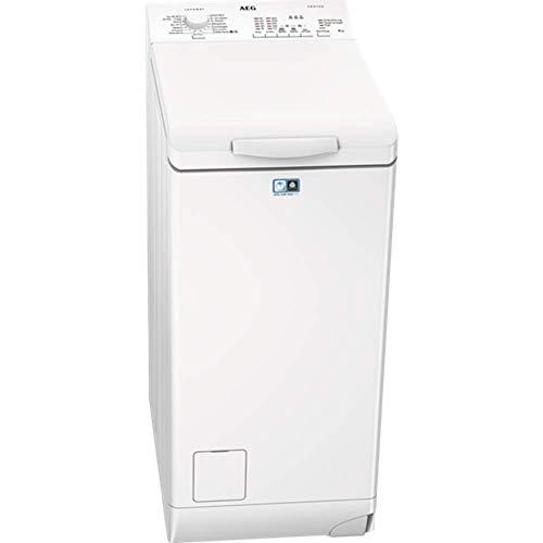 AEG L51260TL Waschmaschine Toplader / Waschmaschine mit 6 kg ProTex Trommel / sparsamer Waschautomat mit Mengenautomatik / automatische Waschmitteldosierung /...