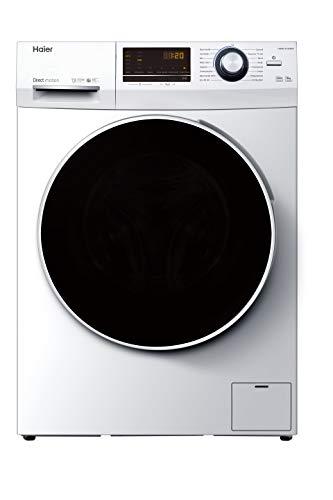 Haier HW80-B14636N Waschmaschine / 8 kg / 1400 UpM / Direct Motion Motor (sehr leiser und sparsamer Direktantrieb) / Dampf-Funktion / Vollwasserschutz / ABT /...