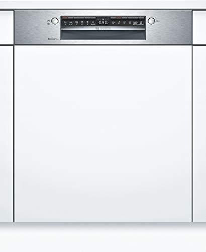 Bosch SMI4HAS48E Serie 4 Geschirrspüler Teilintegriert / D / 60 cm / Edelstahl / 84 kWh/100 Zyklen / 13 MGD / SuperSilence / Extra Trocknen / VarioBesteckkorb...