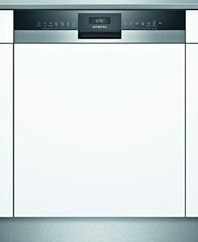 Siemens SN55ZS03AE iQ500 Teilintegrierter Geschirrspüler / C / 74 kWh / 13 MGD / Zeolith Trocknung / Smart Home kompatibel via Home Connect / glassZone im...