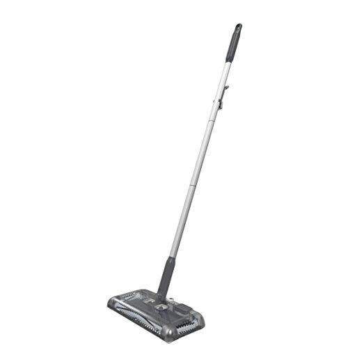 Black+Decker PSA215B-QW 7.2V, 1.5Ah Lithium Akku-Kehrbesen, Laufzeit 60 min, für kurzflorigen Teppiche und Hartböden, kabellos, beutelos, aufladbar, schwarz,...