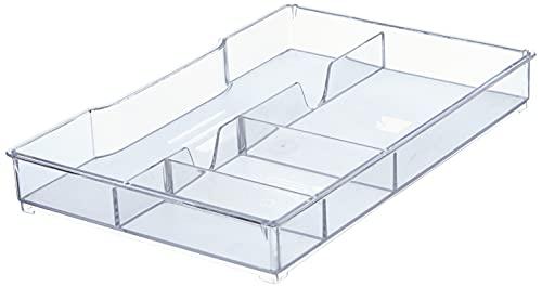 Leitz Schubladeneinsatz für Leitz Cube und WOW Schubladenboxen, Einsatz für Schubladen, Transparent, 52150002