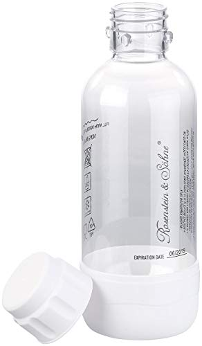 Rosenstein & Söhne Zubehör zu Soda-Sprudler: PET-Flasche für Getränke-Sprudler WS-300.multi, 0,5 Liter, BPA-frei (Trink-Wasser Sprudler)