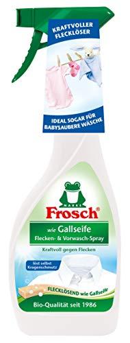 Frosch wie Gallseife Flecken- und Vorwasch-Spray 500 ml, 4er Pack (4 x 0.5 l), 2376