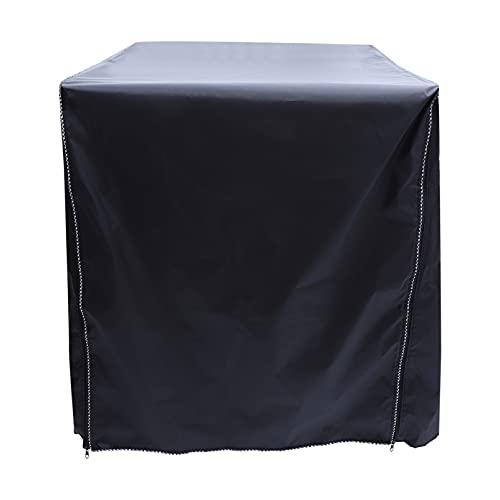 OSALADI Schwarz Waschmaschine Und Trockner Top Abdeckungen Anti- Slip Waschmaschine Abdeckung Kühlschrank Abdeckung Frontlader für Hause Wäsche
