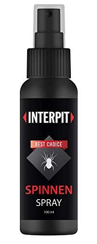 Interpit Anti Spinnen Spray, Hochwirksam zum vertreiben für Innen & Aussen - Mittel zum Spinnen vertreiben - Anti Spinne Ungeziferspray zur Spinnenabwehr -...