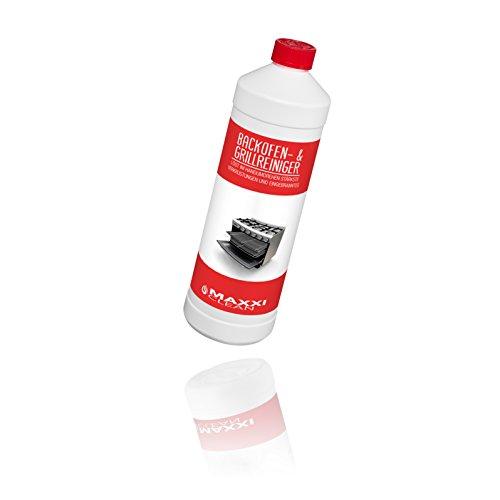 Maxxi Clean Backofen- und Grillreiniger 1000 ml Backofenreiniger Gel Paste   löst einfach hartnäckigste Verkrustungen, reinigt selbsttätig - ohne aufheizen -...