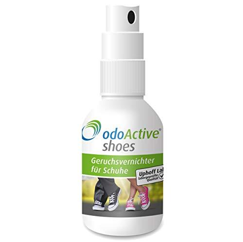 odoActive - Schuhgeruch-Vernichter – Dauerhafter Geruchsentferner – mikrobiologisch – Frische Schuhe & Gesunde Füße – mehrfach ausgezeichnet –...