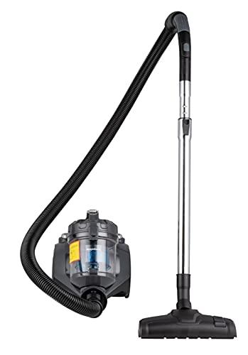 Amazon Basics – Zylinder-Staubsauger, leistungsstark, kompakt und leicht, ohne Beutel, für Hart- und Teppichböden, HEPA-Filter, 700W, 1,5l, EU