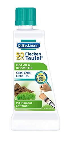 Dr. Beckmann Fleckenteufel Natur & Kosmetik Spezialfleckentferner gegen Grasflecken, Erde und Make-up (50 ml)