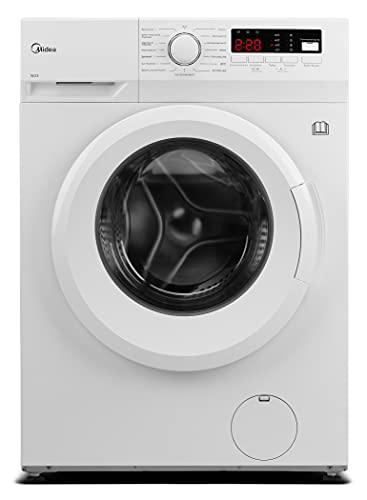 Midea MFNED85-1455 Waschtrockner / 8/ 5kg Waschen /Trocknen / Trommelreinigung- Erinnerung / 1400 U/min/ / Temperatur einstellbar / 60 Min. Waschen & Trocknen /...