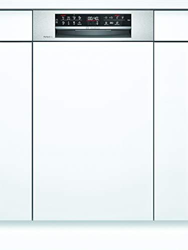 Bosch SPI6ZMS35E Serie 6 Geschirrspüler Teilintegriert / A+++ / 45 cm / Edelstahl / 188 kWh/Jahr / 10 MGD / SuperSilence / EmotionLight / VarioSchublade Pro /...