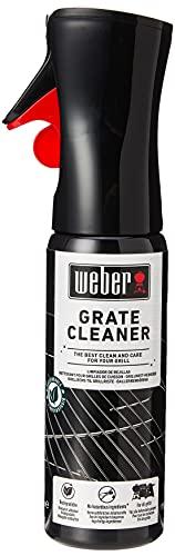 Weber 17875 Grillrost-Reiniger, 300 ml, Nebelspray, löst Fett- und Speisereste, schwarz