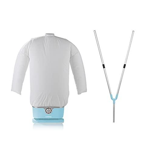 CLEANmaxx automatischer Hemdenbügler inkl. Hosenaufsatz | Bügler für Hemden & Blusen, Bügelautomat | Bügelpuppe für Hemden und Blusen [Bügelhilfe für...
