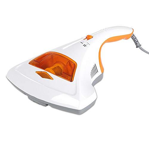 Milben-Handstaubsauger UV-C Licht, Sterilisation u. Reinigung, Matratzensauger, HEPA-Filtration vernichtet bis zu 99,9% Aller Milben, ohne Beutel, Starke...