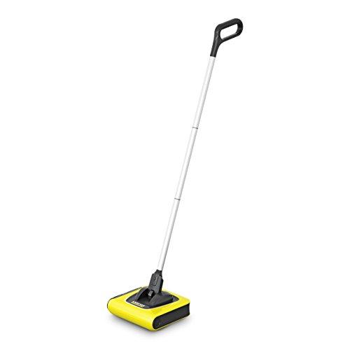 Kärcher Akkubesen KB 5 (Akkulaufzeit: bis zu 30 min auf Hartböden, ergonomische Reinigung ohne Bücken, randnahes Kehren, platzsparende Aufbewahrung,...
