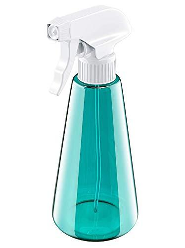 Babacom Sprühflasche, 500ml PET Plastik Zerstäuber, 3 Modi (Feinen Nebel & Strahl & Aus) Nachfüllbare Leere Sprühflasche für Reinigungsmittel, Flüssigkeit