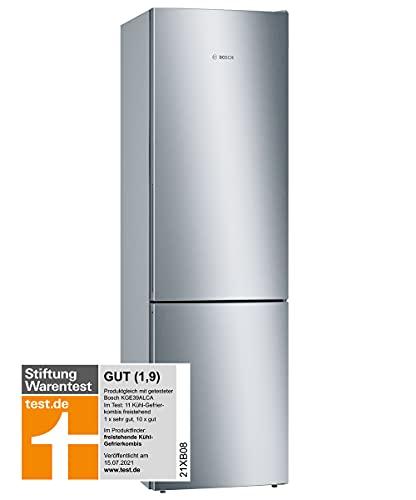 Bosch KGE39AICA Serie 6 Freistehende Kühl-Gefrier-Kombination / C / 201 cm / 149 kWh/Jahr / Inox-antifingerprint / 249 L Kühlteil / 94 L Gefrierteil /...