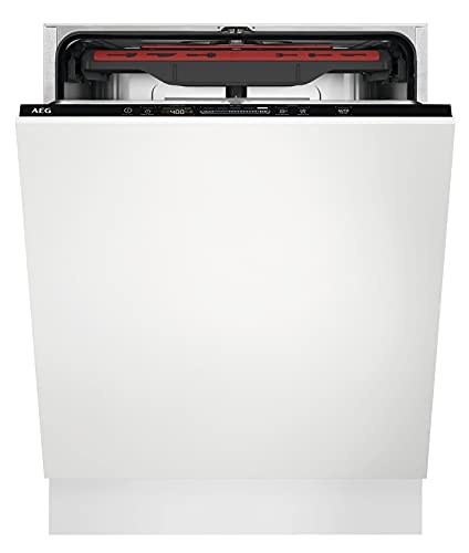 AEG FSB53907Z Vollintegrierter-Geschirrspüler / 60cm / AirDry - ideale Trocknungsergebnisse / Effizienzklasse D / energiesparend / MaxiFlex Besteckschublade /...