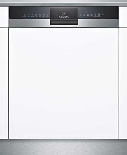 Siemens SN53HS36TE iQ300 Teilintegrierter Geschirrspüler / E / 92 kWh / 12 MGD / Smart Home kompatibel via Home Connect / varioSpeed Plus / Oberkorb mit...