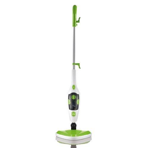 CLEANmaxx Dampfbesen 5in1 1500 W limegreen/weiß