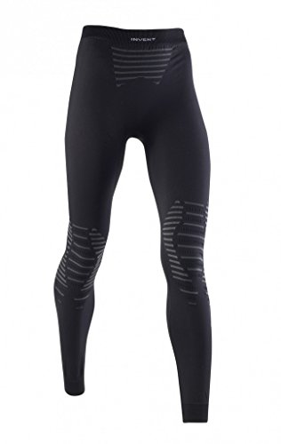 X-Bionic Erwachsene Funktionsbekleidung Lady Invent UW Pants Long, Black/Anthracite, L