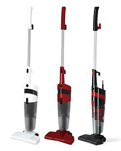 Foxcell 600 Watt 14000Pa 2 in 1 Zyklon-Staubsauger,Handstaubsauger,Bodenstaubsauger, beutellos, 5 Meter XXL Kabel (10 Meter Aktionsradius),1,5L...