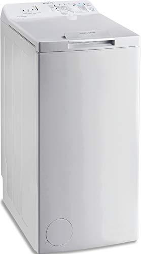 Privileg PWT L50300 DE/N Toplader Waschmaschine / 5 kg / 1000 UpM/Turn&Go/Rapid Wash/Extra Waschen/Startzeitvorwahl/Wolle-Programm/Energy...