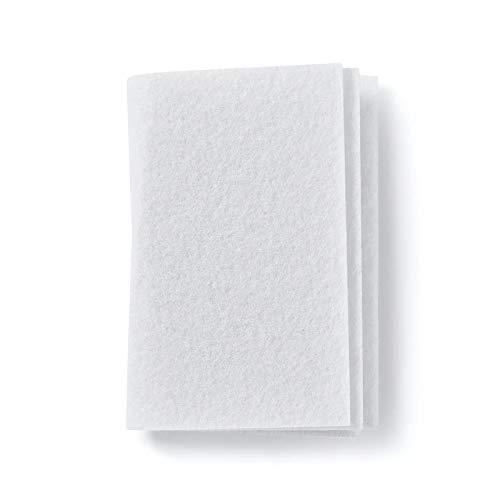 10x Universal Mikrofilter/Luftfilter/Motorfilter/Abluftfilter/Microfilter/Filtermatte zuschneidbar, ca. 190x150mm von Microsafe®