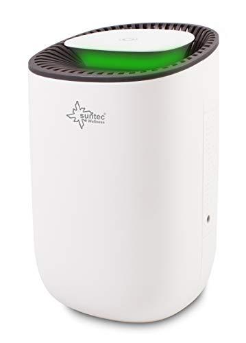 SUNTEC Mini Luftentfeuchter DrySlim 300 Point – für Räume bis 30 M³ ( 12,5 m2 ) | Raumentfeuchter mit 300 ml / Tag Entfeuchtung | Entfeuchter klein...