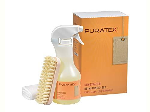 PURATEX Set für die Reinigung von Polstermöbeln aus Kunstfaser. 500 ml Reiniger und Zubehör von LCK
