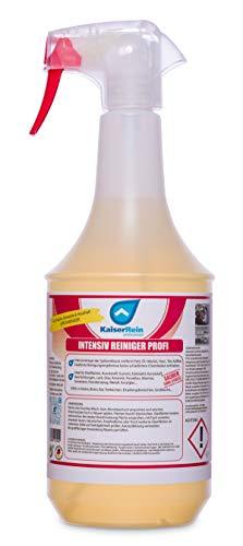 KaiserRein Intensivreiniger Küchenreiniger Profi Spray 1L (1000ml) Fettlöser Spray Küche Grill Gastronomie Konzentrat Entfetter