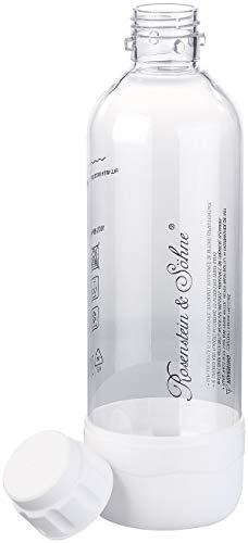 Rosenstein & Söhne Zubehör zu Soda Wassersprudler: PET-Flasche für Getränke-Sprudler WS-300.multi, 1 Liter, BPA-frei (Multi-Getränke- und Wassersprudler)