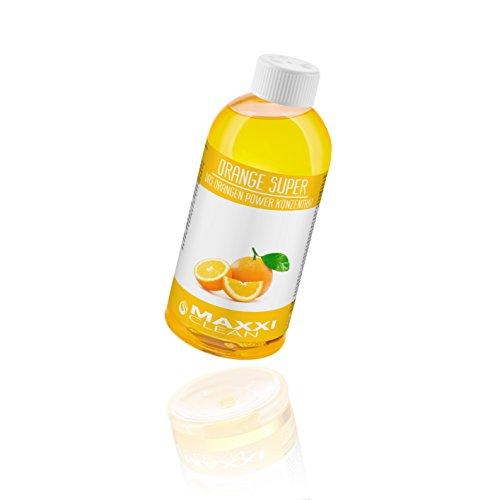 Maxxi Clean Orangenreiniger Konzentrat Reinigungsmittel 500 ml - Universalreiniger als Glasreiniger, WC Reiniger, Badreiniger und Küchenreiniger für Haushalt...