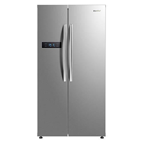 comfee SBS 527.1 NFA+ SIDE-BY-SIDE Kühl-Gefrier-Kombination/ A+ / 178,8cm /405 kWh/Jahr/ 335 L Kühlteil/175 L Gefrierteil/ No Frost [Energieklasse A+]