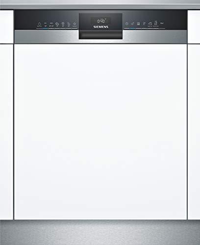 Siemens SN53HS41TE iQ300 Teilintegrierter Geschirrspüler / E / 92 kWh / 12 MGD / Smart Home kompatibel via Home Connect / hygiene Plus Programm / vario Korb...