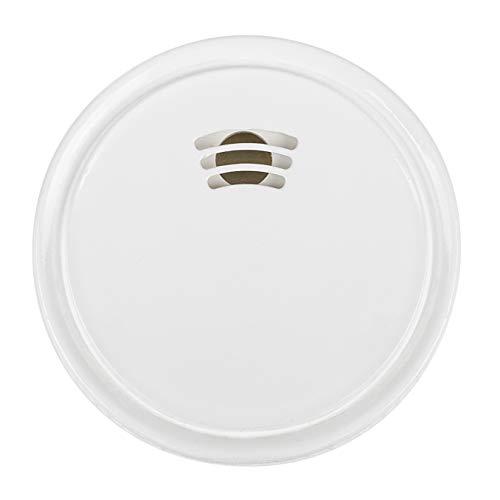 Smartwares Wassermelder/-wächter (verhindert Wasserschäden extrem flach 3-Jahres-Batterie) FWA-18210, Weiß