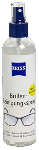 ZEISS Brillen-Reinigungsspray, alkoholfrei 240ml, zur professionellen Reinigung der Brillengläser
