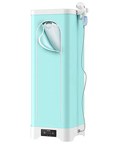 GXLX Elektrischer Wäschetrockner mit Bügelfunktion Tragbarer 2-Stöckig Faltbar