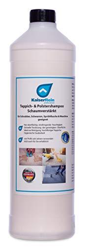 KaiserRein 1 L Teppichreiniger I Polsterreiniger für Auto, Teppich und Polster I Textilreiniger Konzentrat Teppiche Autositze I Waschsauger geeignet ohne...