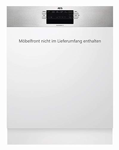 AEG FEB52600ZM Integrierter-Geschirrspüler / 60cm / AirDry - perfekte Trocknungsergebnisse / energiesparend / Besteckkorb / Glasprogramm / Beladungserkennung /...