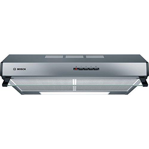 Bosch DUL63CC50 Serie 4 Unterbauhaube / D / 60 cm / Edelstahl / wahlweise Umluft- oder Abluftbetrieb / Drucktastenschalter / Intensivstufe / Metallfettfilter...