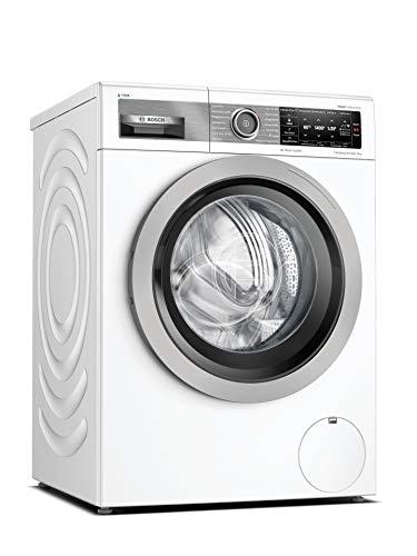Bosch WAV28E43 HomeProfessional Waschmaschine Frontlader / A / 48 kWh/100 Waschzyklen / 1400 UpM / 9 kg / Weiß / i-Dos / 4D Wash System / Fleckenautomatik Plus...